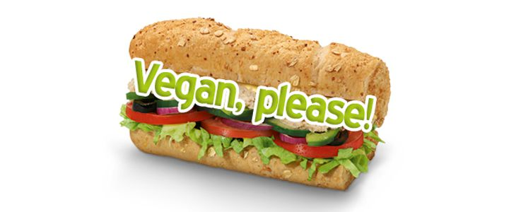 Internauta cria campanha pedindo lanches veganos na rede Subway do Brasil