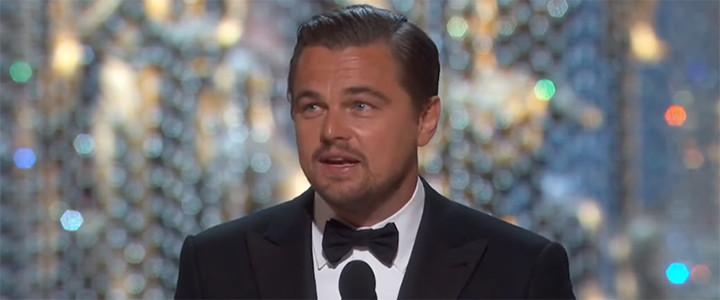 Leonardo DiCaprio usa Twitter para recomendar vídeo contra a Pecuária