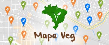 Mapa Veg passa de 100 cidades com opções veganas cadastradas